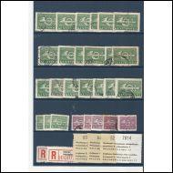 Kentt�postimerkit 1943-1944. + v�h�n muuta