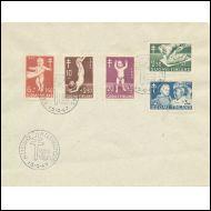 FDC  15.9.1947  TUBERKULOOSI MERKIT