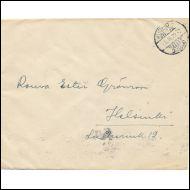 KUORI  1932 /  KUOPIO - HELSINKI