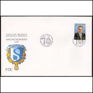 25.11.93 Presidentti Mauno Koivisto 70 vuotta fdc