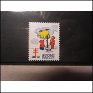 TUB JOULUMERKKI 1975 JOULULYHTEELL� ** (A871)