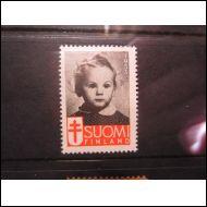 TUB JOULUMERKKI 1953 TYTT� ** (A886)