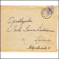 Kirje sis�lt�ineen Parkano 9.III.28 takana laskelmia