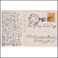 PK. 1933  /  P.VAUNU  + RIVILEIMA: MJ�LBOLSTA ( MELTOLA )