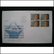 FDC NELI�LL� - LaPe 1010 - 17.02.1987