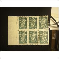 1945   Urheilu kuusilosarja 5x6 kpl (*)