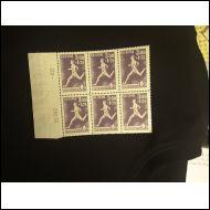 1945   Urheilu juoksija  kuusilo (*)