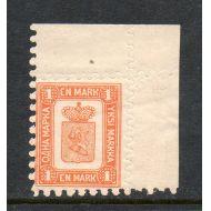 1866 1 markka UP 1893 ** hieno postituore !!!