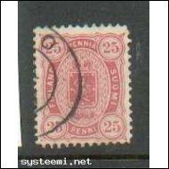 1875  25 p  LSenaatin B-hampainen!!!! SB