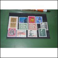 BRD erä 3 postituoretta 1960-70 lukua 11  kpl
