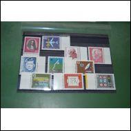 BRD erä 1 postituoretta 1960-70 lukua 10 merkkiä
