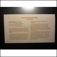 ELOKUVA SEIKKAILU 1990 FDC USA 22 KARAT KULTAUS (A658)