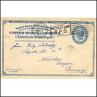 USA,HYVÄ EHIÖKORTTI SAKSAAN 25.2 1912(18979)