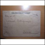 JOENSUU 1948 VR ASEMALEIMA KUORI SINETTI (E218)