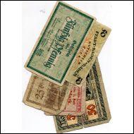 SETELIT,SAKSA,NOTGELD,5 KPL(18906A)