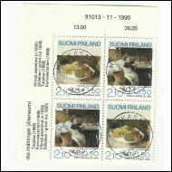 Pro Filatelia 1991, maalauksia, Schjerfbeck, 2 loistoparia