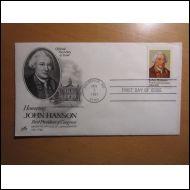 USA FDC 1981 HANSON KONGRESSIN PRESSA KUVA KUORI(E820)