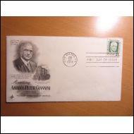 USA FDC 1973 GIANNINI BANK OF AMERICA KUVAKUORI (E826)