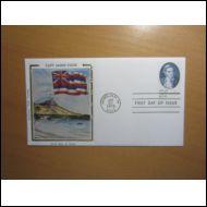 USA FDC 1978 KAPTEENI COOK SILKKI KUVAKUORI (E900)