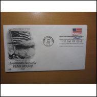 USA FDC 1981 AMERIKAN LIPPU KUVAKUORI (S164)