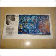 Dag Hammarskjöld Chagall Window YK 1967 USA FDC hieno