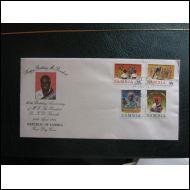PRESSA 60 V SARJA ZAMBIA 1984 FDC KOMEA KUVAKUORI (S818)