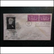 USA FDC 1953 BAARI BAR ASSOCIATION HILL KUVA KUORI (O180)