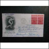 USA FDC 1948TURNER SOCIETY KUVA KUORI (O186)