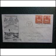 USA FDC 1948 FORT BLISS TEXAS KUVA KUORI (O191)