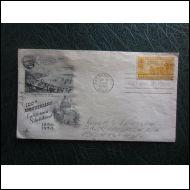 USA FDC 1950 CALIFORNIA KUVA KUORI KOMEA (O210)