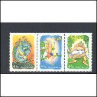 Australia, Australian stamp catalogue 1807 A,B,C