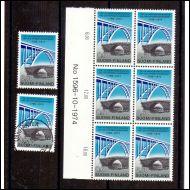 Lape758 0,60mk N6lo N:o 1596-10-1974 y-paperi postituore