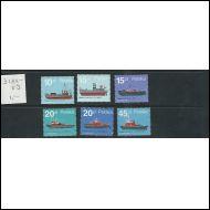 Puola 3184-89 ** laivoja
