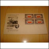 WWII Occupied Nations Puola 1943 USA ensipäivänkuori FDC