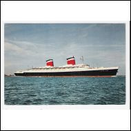 "S/S ""United States"" (1952) - United States Lines"