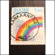 1986--RAUHANVUOSI--KANKAANPÄÄ 9.12--1986 (NAPPILO)