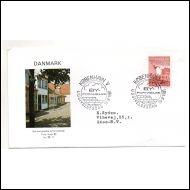 FDC Tanska 10.9.1981