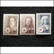 PUNAINENRISTI 1936 POSTITUORE ++ SARJA