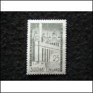 POSTIMERKKINÄYTTELY 1955 POSTITUORE  ++