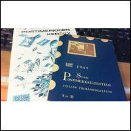 LaPe 1967 -postimerkkiluettelo + LaPe-opas