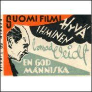 VANHA TULITIKKUETIKETTI,VALOKUVA-MAINOS(22462)
