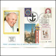 Itävalta - Paavin vierailu 9.9.1983 Wien, Uskonto aihe