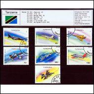Lentokoneet, Militar, Tansania 1993