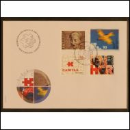 Sveitsi - Caritas sarja FDC - 2001