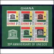 Ghana blokki, postituoreena