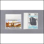 Guyana 2 kpl. postituoreena