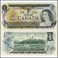 CANADA 1 Dollar 1973 P-85a UNC