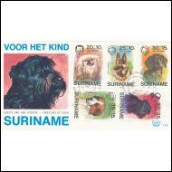 SURINAME  /  FDC  1976  /  KOIRIA