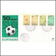 SURINAME  /  FDC 1970  /   JALKAPALLOA