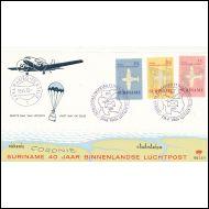 SURINAME  /  FDC  1970   /  ILMAILUAIHEINEN